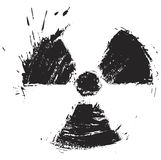 Muestra de la radiactividad Fotos de archivo