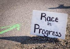 Muestra de la raza Foto de archivo libre de regalías