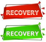 Muestra de la recuperación Fotos de archivo libres de regalías