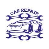 Muestra de la reparación del coche libre illustration