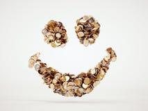 Muestra de la sonrisa del dinero Imagenes de archivo