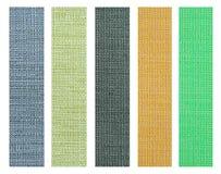 Muestra de la textura de la tela del color para el diseño interior Foto de archivo libre de regalías