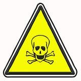 Muestra de la toxicidad aislada Foto de archivo libre de regalías