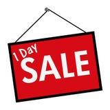Muestra de la venta día Fotografía de archivo libre de regalías