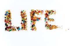 Muestra de la vida Imágenes de archivo libres de regalías