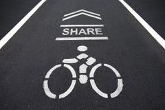 Muestra de las bicicletas Foto de archivo