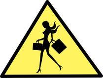 Muestra de las compras Imagen de archivo libre de regalías