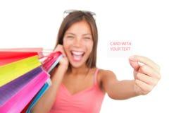 Muestra de las compras Imagen de archivo
