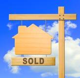 Muestra de las propiedades inmobiliarias Foto de archivo libre de regalías