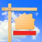 Muestra de las propiedades inmobiliarias Fotografía de archivo libre de regalías