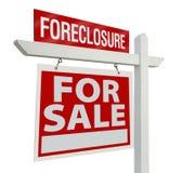 Muestra de las propiedades inmobiliarias de la ejecución de una hipoteca Imagen de archivo