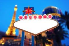 Muestra de Las Vegas imágenes de archivo libres de regalías