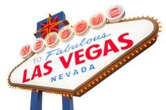 Muestra de Las Vegas Fotografía de archivo libre de regalías