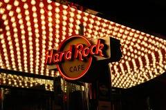 Muestra de Las Vegas Hard Rock Cafe fotos de archivo libres de regalías
