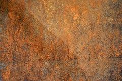 Muestra de llevado por el panel de fibras de madera del tiempo con textura lamentable, sucia, y agrietada de la pintura y del ali fotografía de archivo libre de regalías