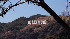Muestra de Los Ángeles Hollywood (ciudades) almacen de video