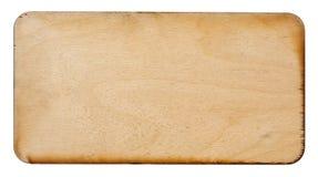 Muestra de madera Imágenes de archivo libres de regalías