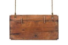 Muestra de madera aislada Imágenes de archivo libres de regalías