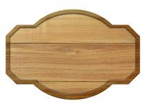 Muestra de madera con la madera ligera aislada en el fondo blanco Fotografía de archivo