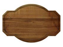 Muestra de madera con la madera ligera aislada en el fondo blanco Imagen de archivo libre de regalías