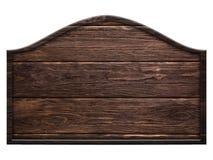 Muestra de madera, madera oscura aislada en el fondo blanco Imagen de archivo libre de regalías