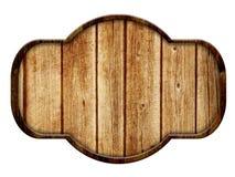 Muestra de madera, madera oscura aislada en el fondo blanco Fotografía de archivo