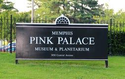 Muestra de Memphis Pink Palace Museum y del planetario Imagen de archivo libre de regalías