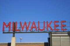 Muestra de Milwaukee imagen de archivo