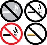 Muestra de no fumadores Fotos de archivo libres de regalías