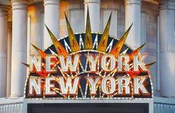 Muestra de Nueva York Nueva York Imagenes de archivo