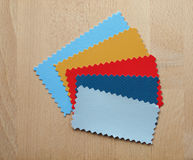 Muestra de papel Fotografía de archivo libre de regalías
