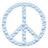 Muestra de paz Fotos de archivo libres de regalías