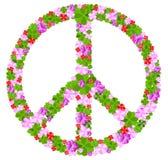 Muestra de paz Imágenes de archivo libres de regalías
