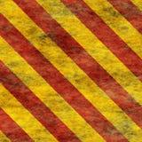 Muestra de peligro de cuidado de Red&Yellow [04] Fotografía de archivo