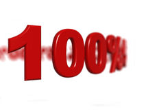 Muestra de porcentaje Imágenes de archivo libres de regalías