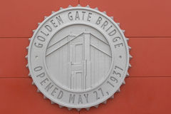 Muestra de puente Golden Gate Foto de archivo libre de regalías