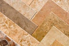 Muestra de suelo de azulejo Foto de archivo libre de regalías