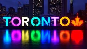 Muestra de Toronto en ayuntamiento Fotografía de archivo libre de regalías