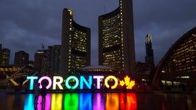 Muestra de Toronto en ayuntamiento Imagenes de archivo