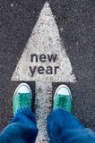 Muestra del Año Nuevo Fotos de archivo