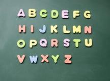 Muestra del alfabeto Foto de archivo libre de regalías