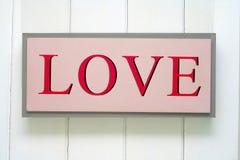 Muestra del amor Imagen de archivo libre de regalías