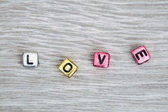 Muestra del amor Fotos de archivo libres de regalías