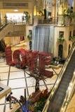 Muestra del amor y característica del agua en el Palazzo Las Vegas foto de archivo