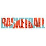 Muestra del baloncesto stock de ilustración