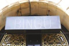 Muestra del bingo fotografía de archivo