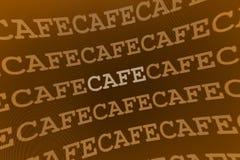 Muestra del café Imagen de archivo