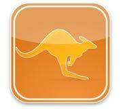 Muestra del canguro ilustración del vector