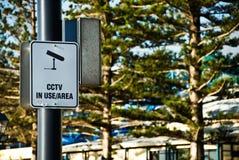 Muestra del CCTV Fotos de archivo libres de regalías