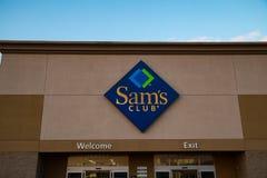 Muestra del club de Sams Fotos de archivo libres de regalías